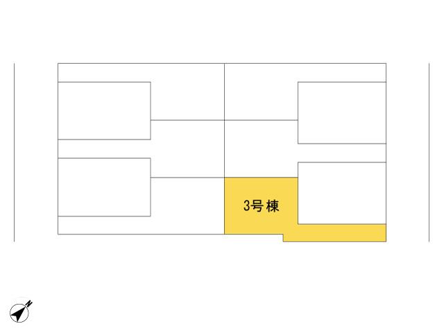 福生市加美平2丁目_3号棟_全体区画図