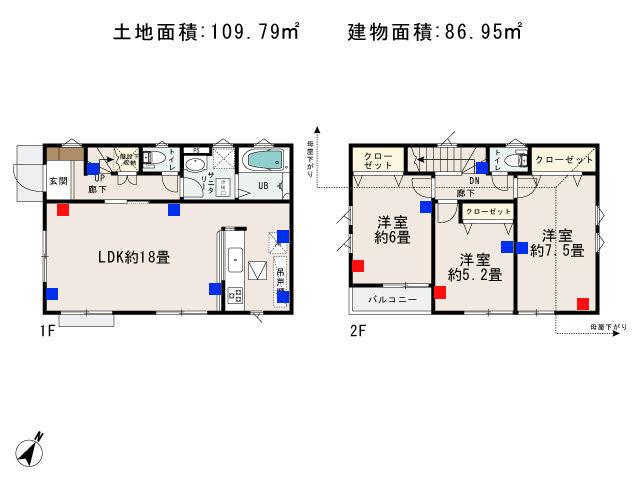福生市加美平2丁目_6号棟_間取図 - コピー
