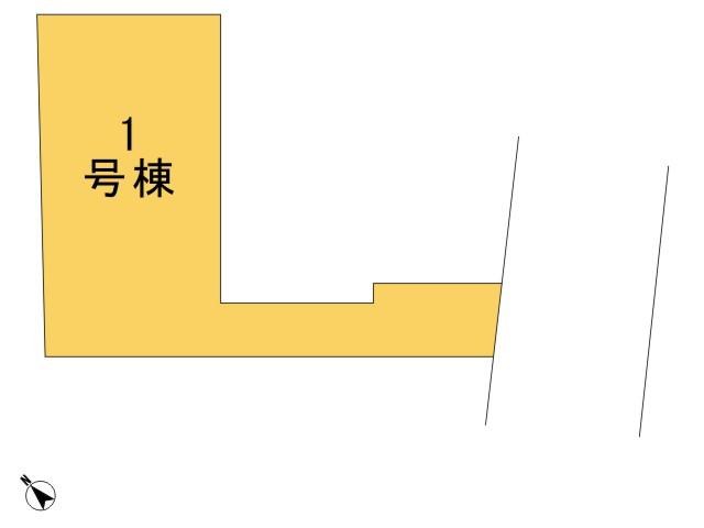 0156879_青梅市河辺町6丁目_1号棟_全体区画図