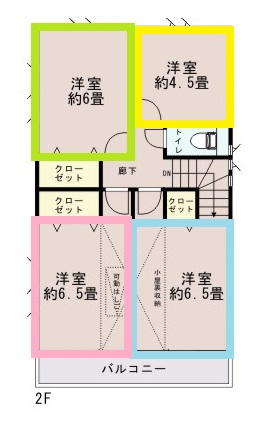 0156879_青梅市河辺町6丁目_1号棟_間取図 - コピー (2)
