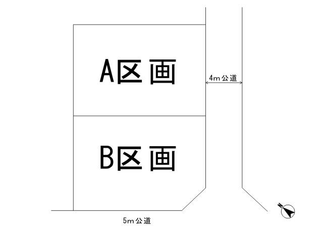 羽村市羽_全体区画図
