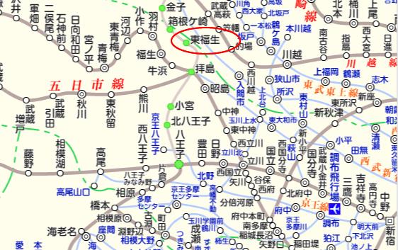 JR八高線 路線図と駅検索 :マピオン
