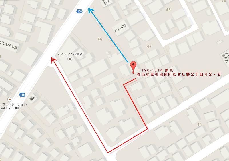 〒190-1214 東京都西多摩郡瑞穂町むさし野2丁目43−5 - Google マップ (1)