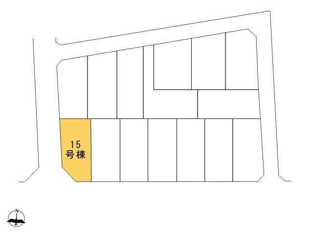 0162086_福生市大字福生_15号棟_全体区画図