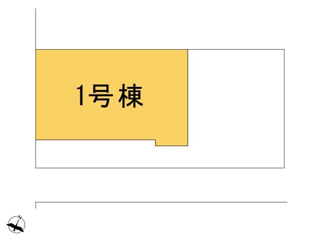 0183943_羽村市緑ヶ丘3丁目_1号棟_全体区画図