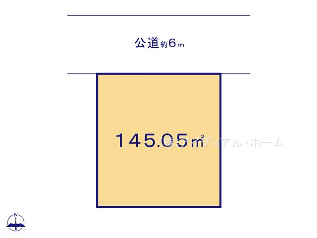 あきる野市秋留5丁目(10-2)_6号地_区画図_0389646