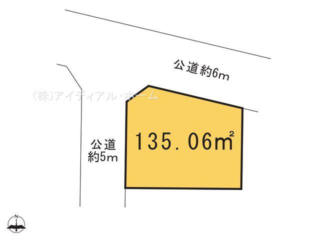 あきる野市秋留5丁目(12-15)_1号地_区画図_0345030