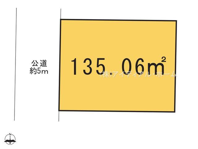 あきる野市秋留5丁目(12-15)_2号地_区画図_0345031