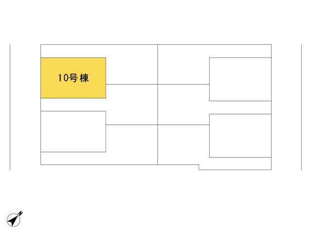 福生市加美平2丁目_10号棟_全体区画図