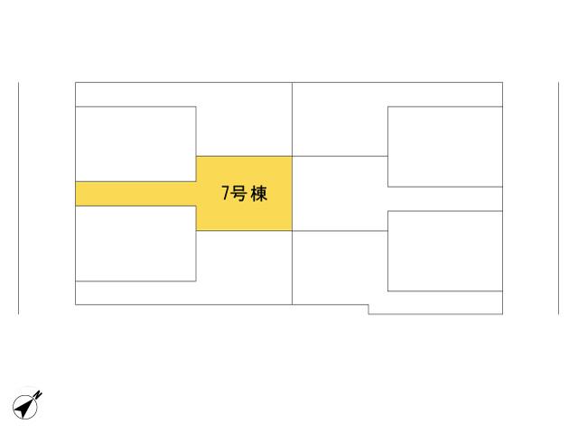 福生市加美平2丁目_7号棟_全体区画図