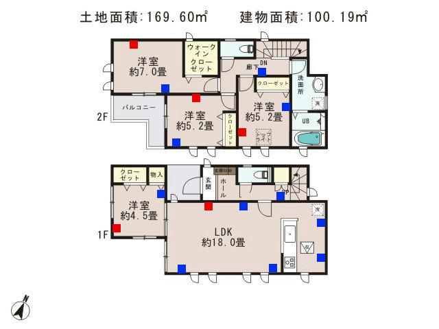 青梅市今寺4丁目_2号棟_間取図 - コピー