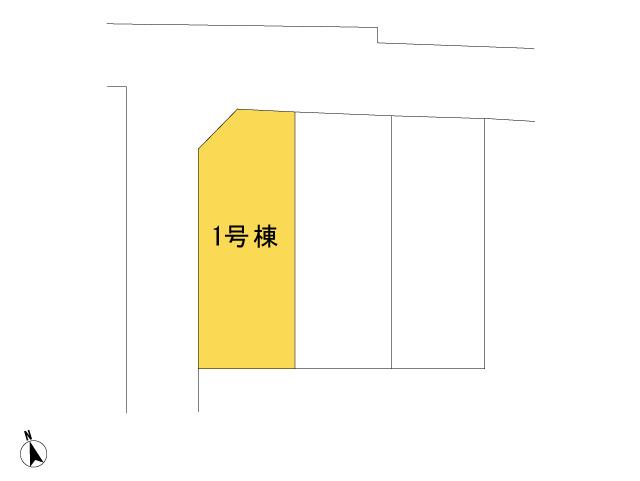 0150160_あきる野市二宮_1号棟_全体区画図
