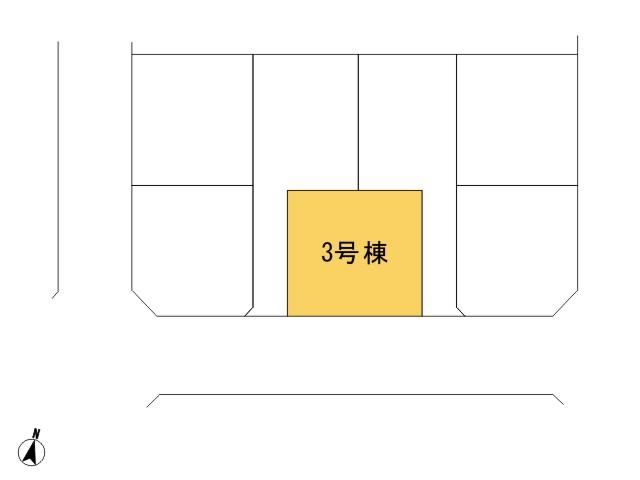 福生市北田園2丁目_3号棟_全体区画図