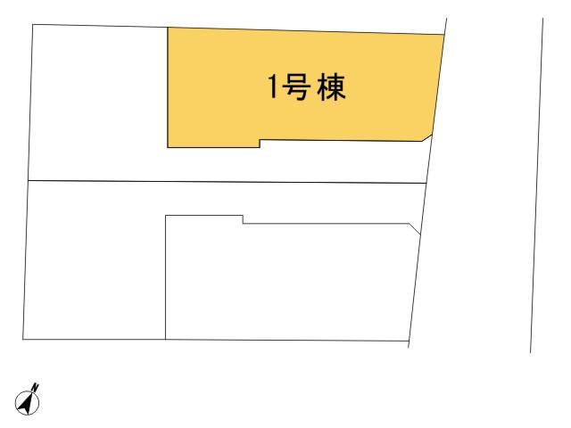 0159381_福生市熊川_1号棟_全体区画図