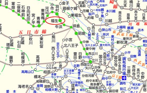 JR青梅線 路線図と駅検索 :マピオン (2)