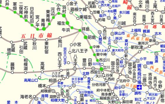 JR青梅線 路線図と駅検索 :マピオン