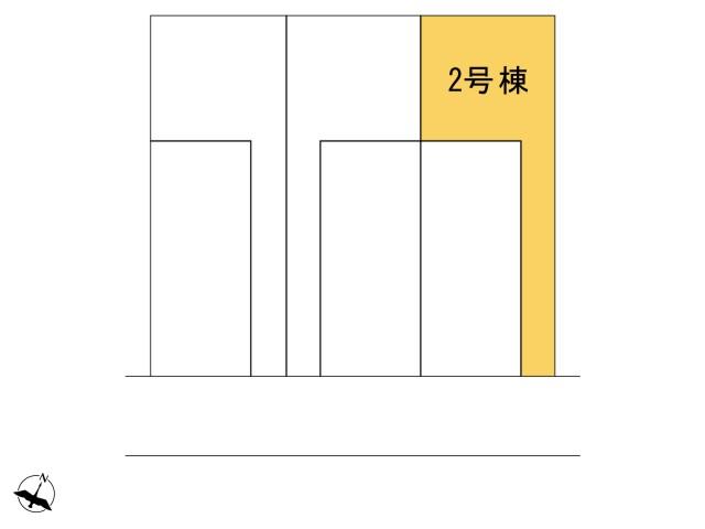 0164424_羽村市緑ヶ丘4丁目_2号棟_全体区画図