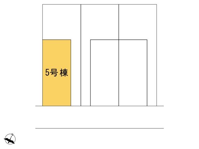 0164427_羽村市緑ヶ丘4丁目_5号棟_全体区画図