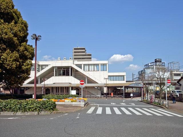 JR青梅線「小作」駅_120412