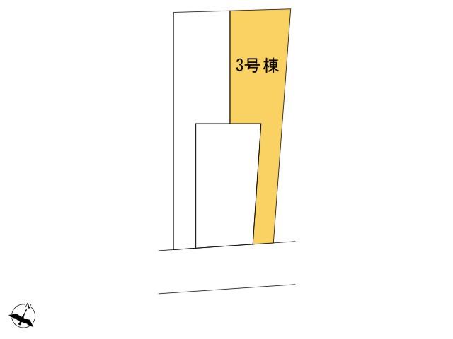 0171328_福生市本町_3号棟_全体区画図