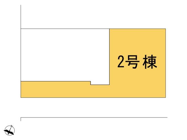 0183949_羽村市緑ヶ丘3丁目_2号棟_全体区画図