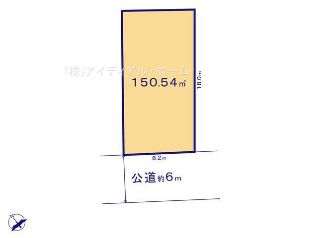 福生北田園_B区画_区画図_0366344