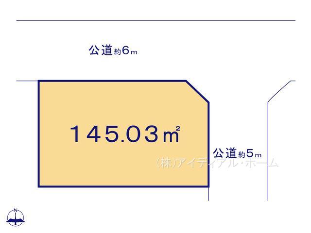 あきる野市秋留5丁目(10-2)_1号地_区画図_0389641