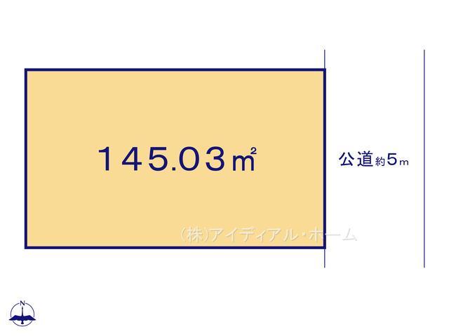 あきる野市秋留5丁目(10-2)_2号地_区画図_0389642