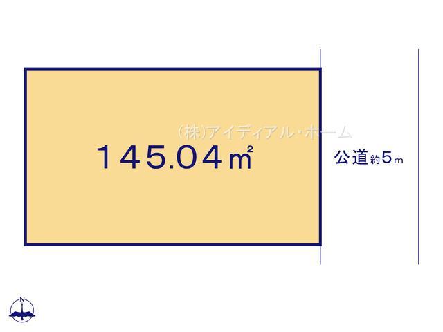 あきる野市秋留5丁目(10-2)_3号地_区画図_0389643