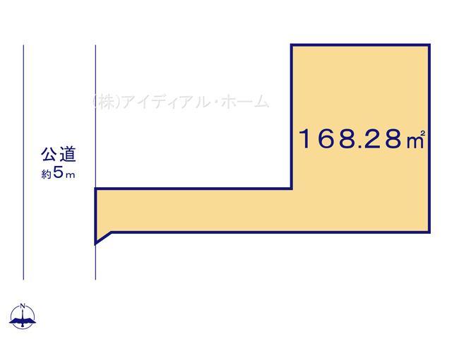 あきる野市秋留5丁目(10-2)_8号地_区画図_0389647