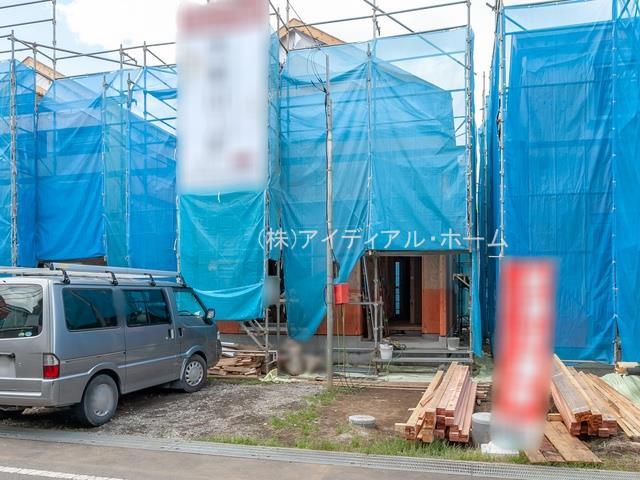 羽村市富士見平19-1期_3号棟_上棟1_200602_0473484